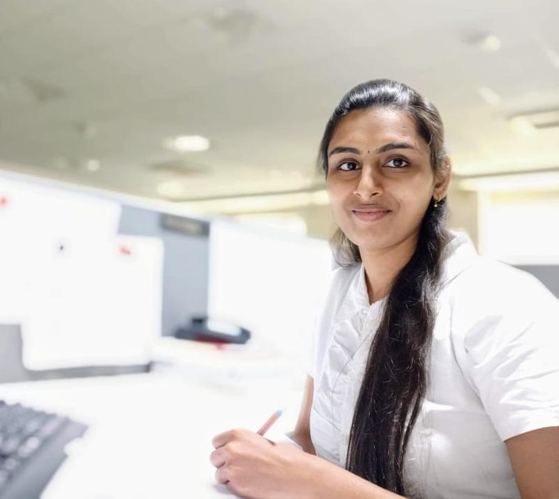 Ms. Sharmily V