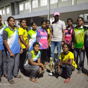 BEC Women's Kabaddi team won 3rd place in School Games Development Federation of India (SGDFI) organized South zone sports competition 2020-2021 KABADDI Tournament @ Texvalley, Chithode on 08.08.2021.